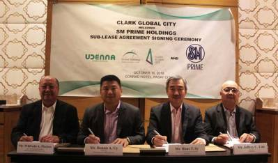 SM Prime Holdings invest in Clak Global City