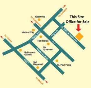 Office for Sale near Robinsons Galleria Ortigas