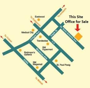 Office for Sale near Robinsons Galleria Ortigas